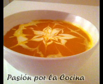 CREMA DE ZANAHORIA AL CURRY (THERMOMIX)