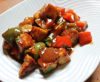 Chinese Paneer Stir Fry Recipe / Chinese Style Paneer Recipe