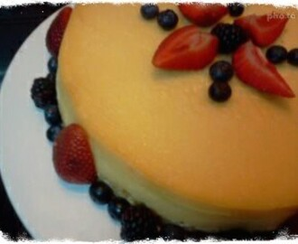 Baked Cheesecake (Cheesecake Cozido) - Miguel