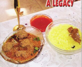 THE BEST OF ANGLO-INDIAN CUISINE – A LEGACY