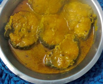Aar Fish (Long Whiskered Cat Fish) Gravy In Bengali Style