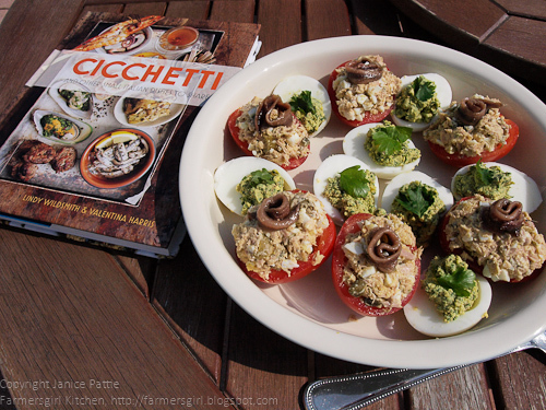 CICCHETTI and other small Italian Dishes -  Review and Giveaway!