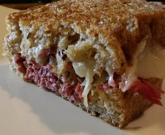 Hot off the Presses.. Homemade Reuben Sandwiches - New YouTube Video!