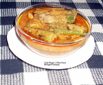 LADY FINGER (OKRA) AND TOMATO CURRY