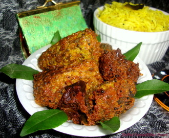 Stuffed Karela / Stuffed Bitter Gourd / Bharwa Karela / Karela Fry / Stuffed Bitter Melon Recipe / Gutti Kakarakaya Recipe / Stuffed Pavakkai Recipe