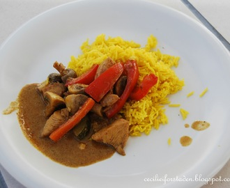Hjemmelaget indisk chicken curry