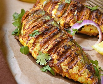 Tandoori Fish - Tikka Fish Recipe