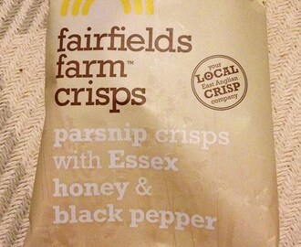Fairfield's Farm Crisps: Parsnip Crisps with Essex Honey & Black Pepper [By @SpectreUK]