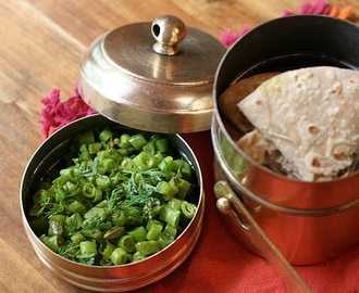 Fansi nu Shaak : French bean vegetable