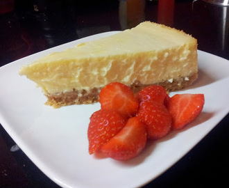 New York cheesecake (aangepast recept van Donna Hay)