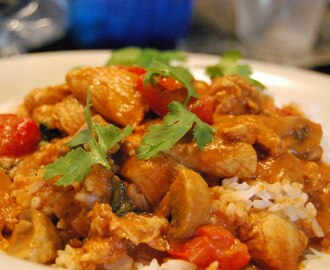 Raskt og godt: Sweet and Sour Balti Chicken