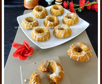 Eggless Whole Wheat Jaggery Mini Bundt Cake