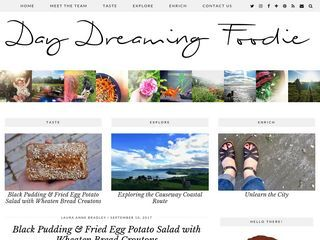 Daydreaming foodie