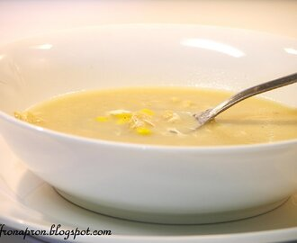 Soup for the soul - Sweet corn chicken soup