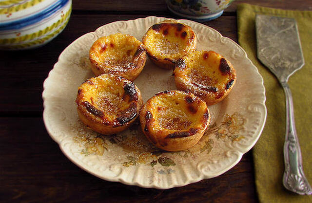 Portuguese Custard Tarts | Food From Portugal