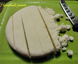 Home made paneer/How to make paneer/Indian cottage cheese