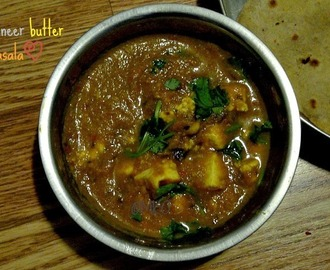 Paneer butter masala/Paneer recipes