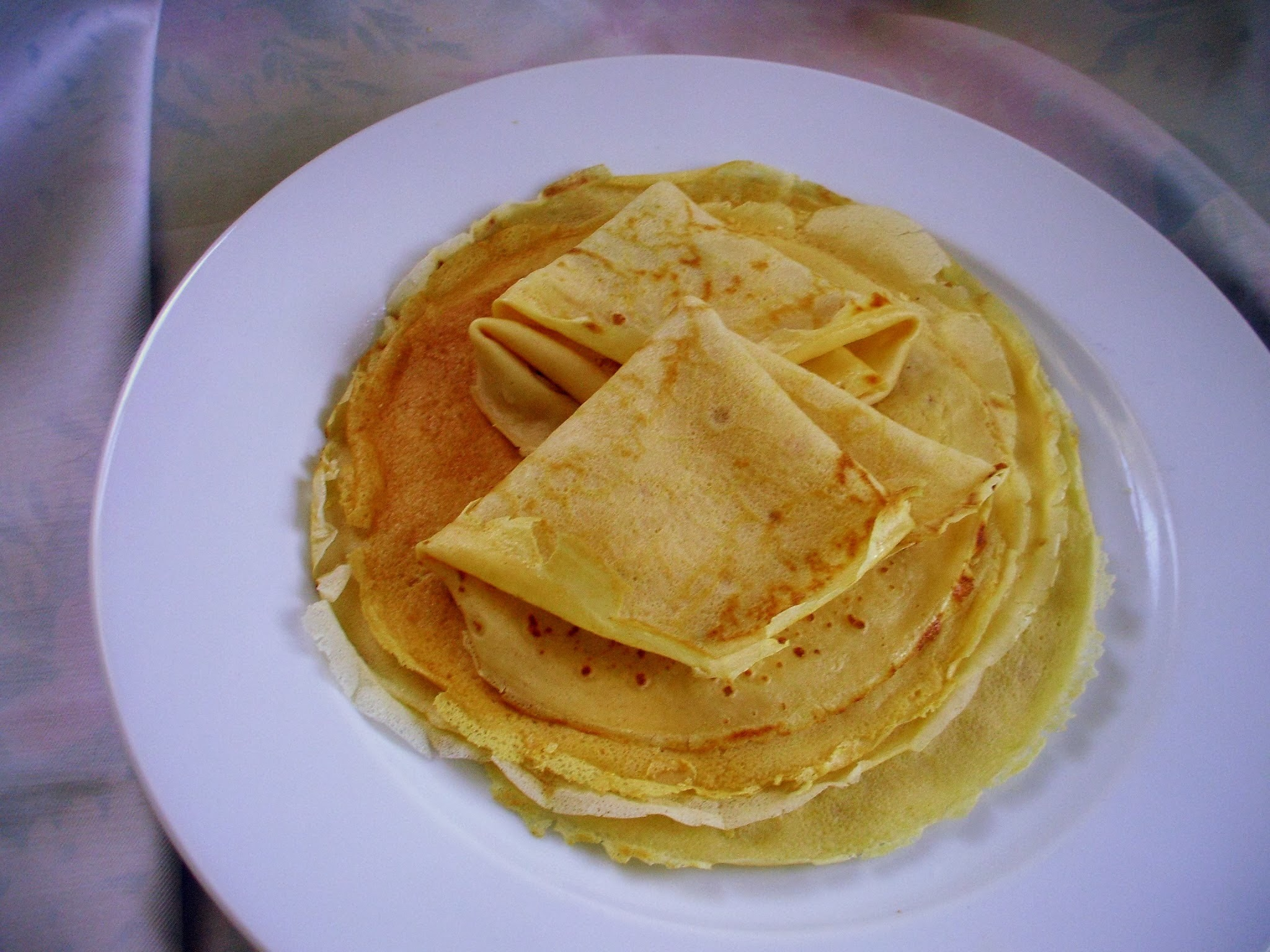 Crepes - receita base