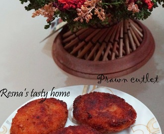 Prawn cutlet (chemmeen cutlet) -with stepwise pictures