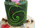 Heart of Te Fiti Cake: You know Who You Are...