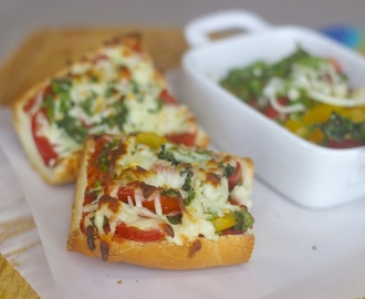 French Bread Pizza – A quick snack