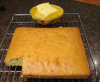 Butter Cake (easy)  - traditional Norman recipe