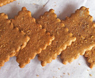 Graham Crackers with Buckwheat Flour (Gluten Free)