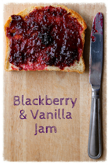 Easy Blackberry & Vanilla Jam