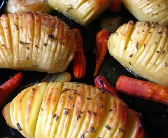 Hasselback potatoes...