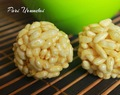 Pori Urundai/Puffed Rice Sweet Ball