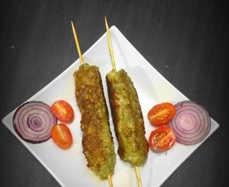 Coriander Chicken Seekh Kabab