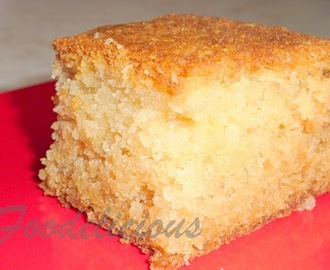 Eggless Sponge Cake Made with Home Made Cream