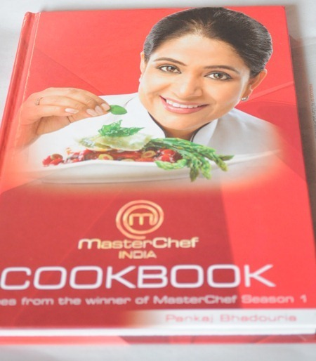 Four Recipes & A Book Review- Master Chef India Cook Book by Pankaj Bhadouria