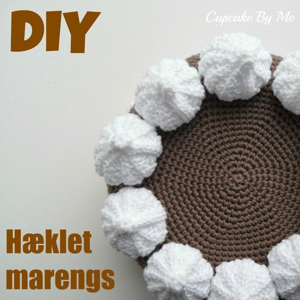 DIY - Hæklet marengs (kyskager)