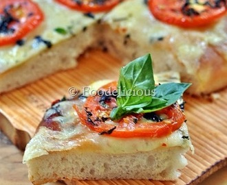 Focaccia Caprese | We Knead To Bake | Baking Bread| Vegan | Winner Of December's ONLY Event