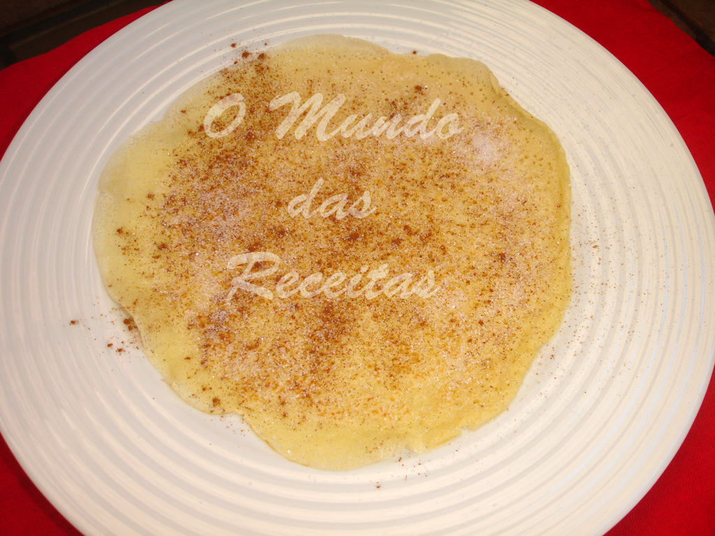 Recordar: Crepes Doces
