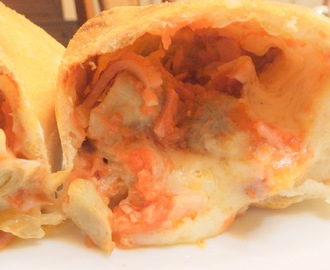 Pizza calzone casolana