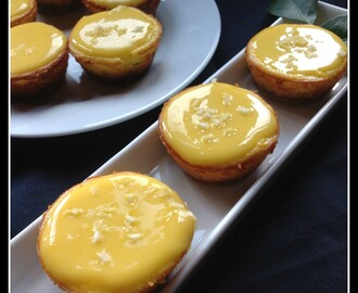 Cheesecake individuales con Lemon Curd