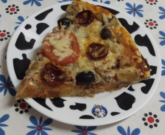 Domingo foi dia de pizza:)