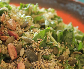 Quinoa, Rocket & Herb Super Salad
