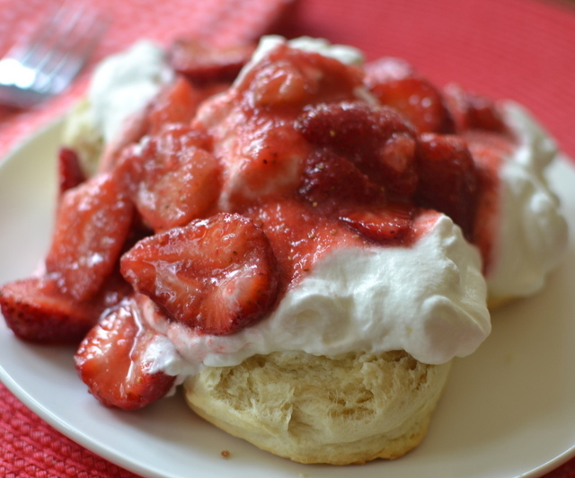 Easy Homemade Biscuit Strawberry Shortcake