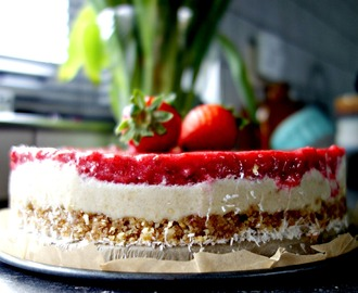'Gezonde' Raw Cheesecake