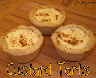 Custard Tarts: GBBO Week #4