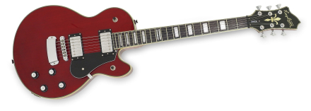 Hagström Swede Wild Cherry Transparent