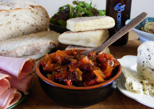 Spiced Tomato & Courgette Chutney