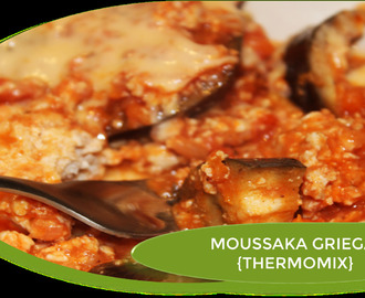 MOUSSAKA GRIEGA CON POLLO {THERMOMIX}