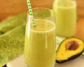 Avocado Milkshake | Butter Fruit Milkshake