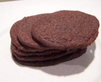 Homemade  Real Chocolate Wafers for Icebox cake