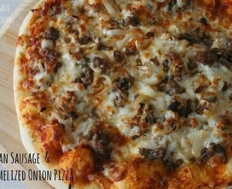 Italian Sausage & Caramelized Onion Pizza