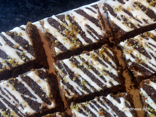 Great British Bake Off 2013 - Spiced ginger and treacle traybake